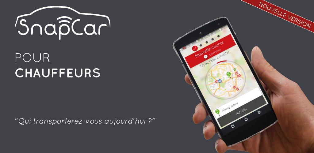 snapcar pour chauffeur