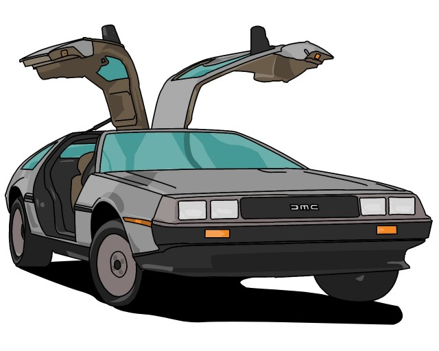 delorean-clipart-delorean-vector-14